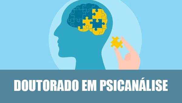 DOUTORADO LIVRE EM PSICANÁLISE - Escola de Psicanalise Koinonia